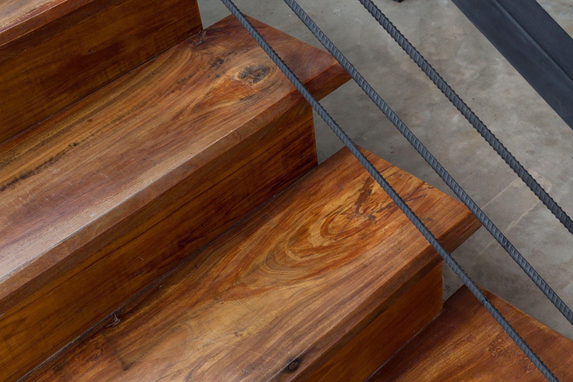 custom wood design luxury staircase Grandview, Carbon Junction